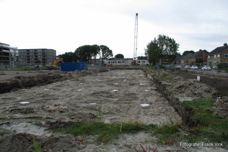 """Bouw van nieuwe woningen nieuwbouw project """"Telle Park"""" wonen begonnen"""