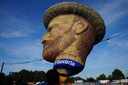 Veel publiek bij de 34 ste editie van de Friese Ballonfeesten Joure
