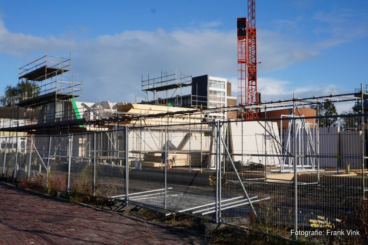 Bouw nieuwe woningen Telleparkt Heerenveen vordert