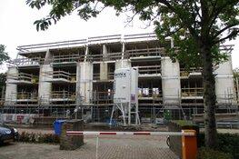 Bouw appartementen complex Thorbeckerstraat vordert