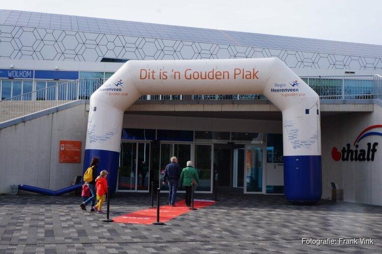 Open dag ijsstadion Thialf Heerenveen druk bezocht