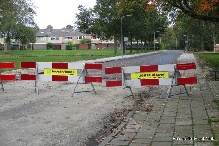 Werkzaamheden aan de Wederik in Heerenveen vordert