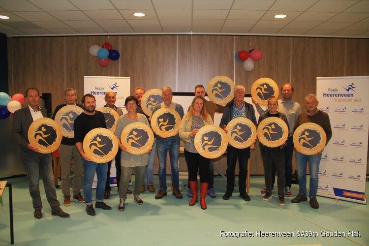TROTS campagne regio Heerenveen 'n Gouden Plak ludiek afgetrapt
