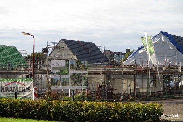 Bouw woningen nieuwbouw project Tellepark krijgt meer vorm
