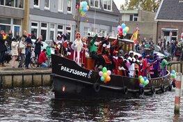 Sinterklaas gearriveerd in Heerenveen