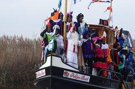Sinterklaas intocht wijk De Greiden in Heerenveen trekt veel publiek