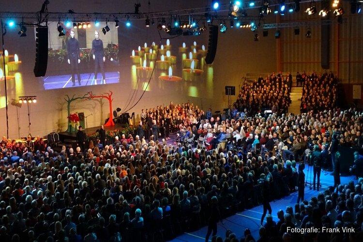 Kerstnachtviering 'Sportstad Heerenveen' trekt veel publiek