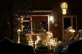 Heerenveen fraai verlicht en versierd tijdens kerstperiode