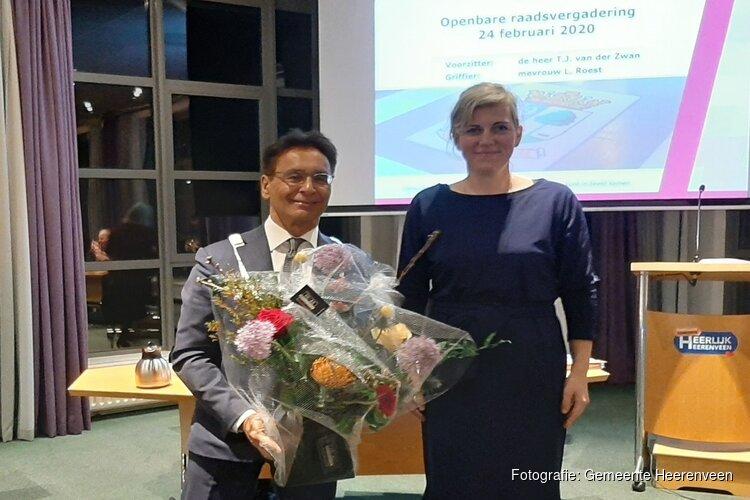 Raad houdt Tjeerd van der Zwan graag als burgemeester