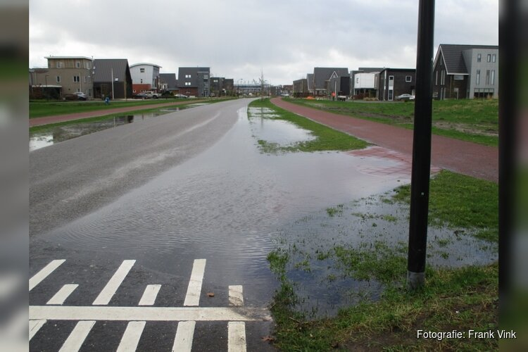 Hoger waterpeil in de gemeente Heerenveen zichtbaar!