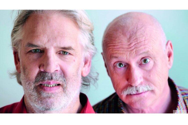 Twee rasartiesten in het Posthuis Theater op 7 maart