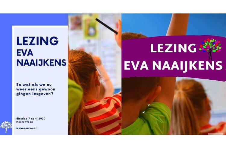 Lezing van Eva Naaijkens op 9 april