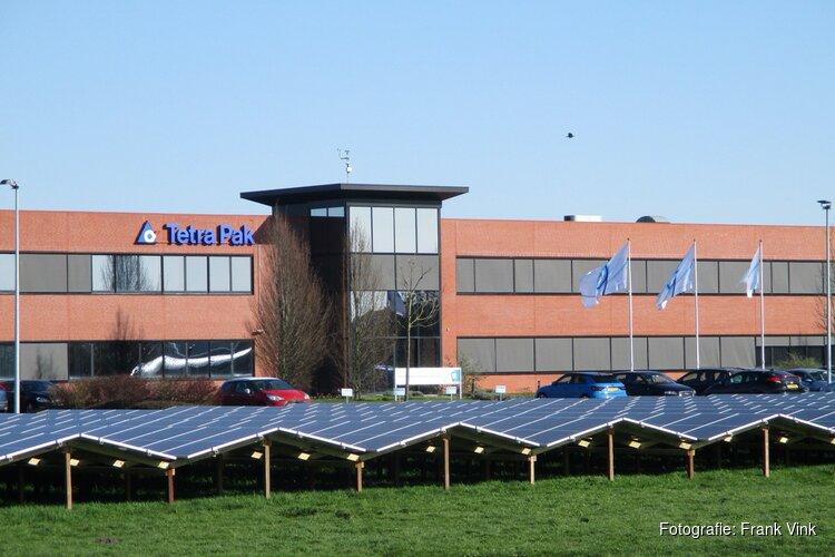 Zonnepark bij Tetra Pak in Heerenveen in beeld